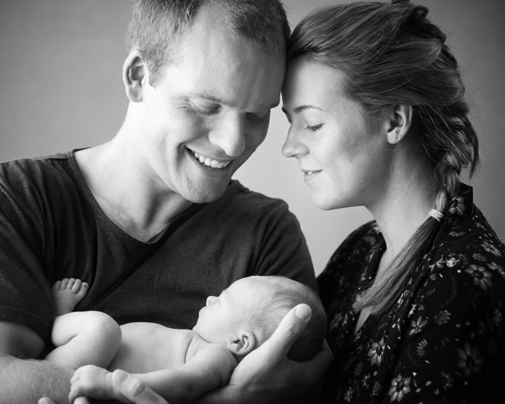 Newborn Family Portrait Photography